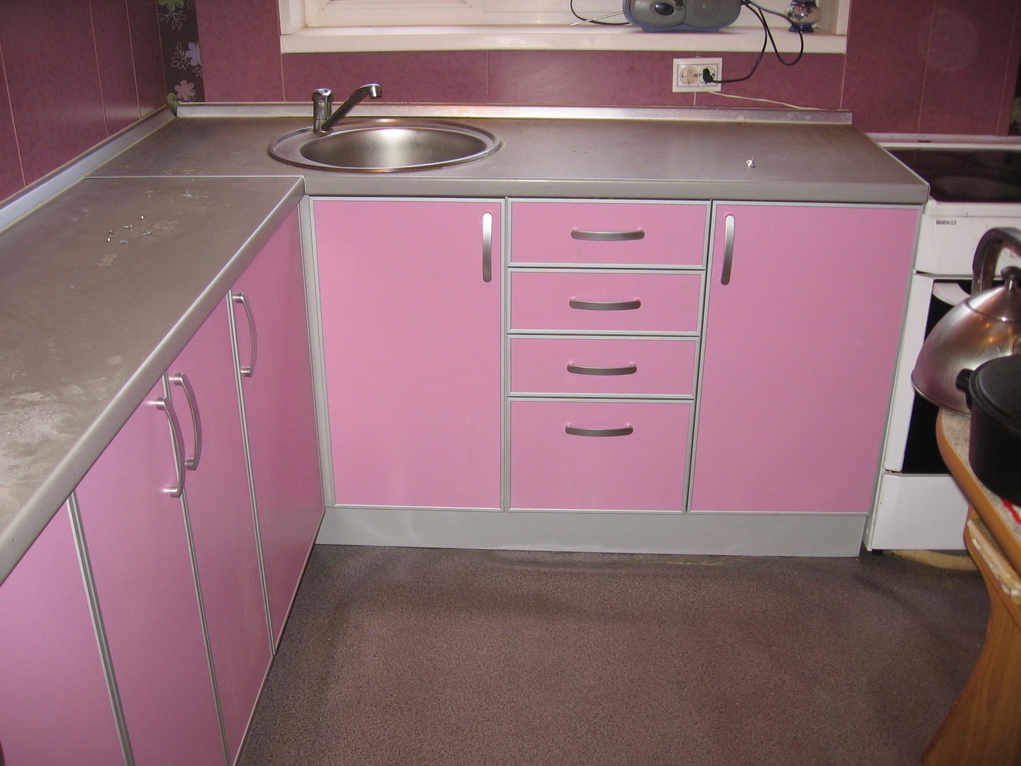розовый профиль